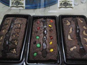 LouLitu chocoriver brownies